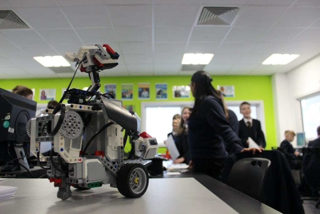 Lego Robots in School